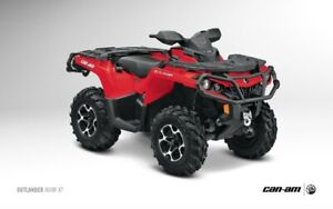 """Can-Am Outlander and Renegade 1.5"""" lift kit by Highlifter"""