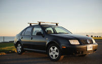 2000 Volkswagen Jetta Sedan w/ roof racks