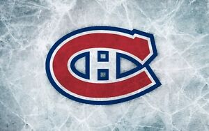 Nov 2nd Montreal Canadiens vs Vancouver Canucks in the REDS!!!