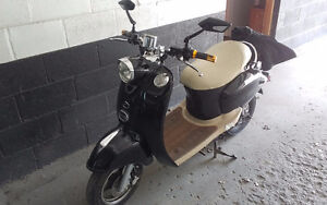 Modified 72 Volt Electric Scooter
