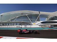 F1 Abu Dhabi Early Bird Tickets Offer