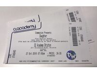 2 Daughter tickets for Brixton Academy tonight