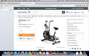 WANTED   A Schwinn Upright Exercise Bike