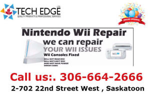 Nintendo, Wii U, Wii, Xbox and PS4 Repair Services