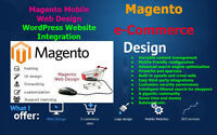 Tailed Magento e-Commerce Website Design - Online Shop, Wordpres