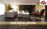 FREE INSTALLATION* on Wood Flooring! | Hardwood Giant