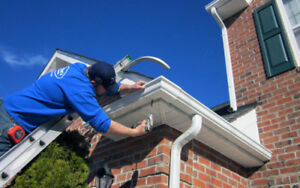 eavestrough repair/replace & cleaning
