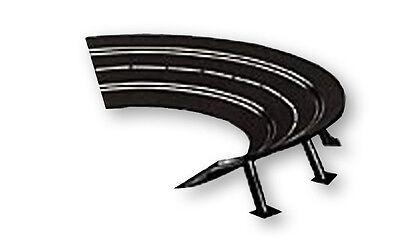 Carrera R1 High Banked Curve 1/30º slot car track, 6/pk 20574