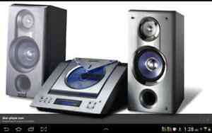 Sharp Micro Systems Audio SystemIlluminated Motorised CD Door London Ontario image 1