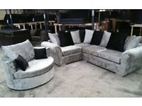 DQF Sofas - Bow St Mall deal: Corner ONLY £499