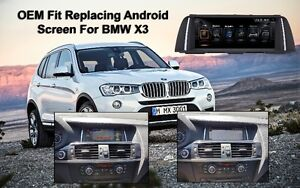 OEM FIT BMW X3 Android navigation GPS Backup Reverse camera