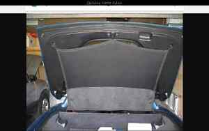 2013 corvette rear sunshade and cargo net