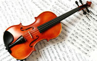 Duncan Music Now Offering VIOLIN / FIDDLE Lessons