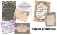 Wedding Invitations, RSVP, Thank You cards...and more!
