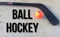 Ball hockey players wanted