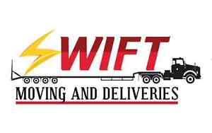 SWIFT MOVING & DELIVERIES.[SHORT NOTICE]. CALL 647-550-8357.