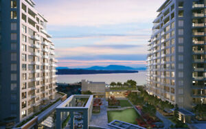 Ocean View, Sub Penthouse, Concrete Condo in White Rock, B.C