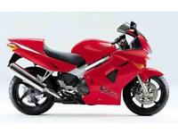 Honda VFR800, Red, Superb condition, Rides very nicely, Serviced, MOT, Warranty