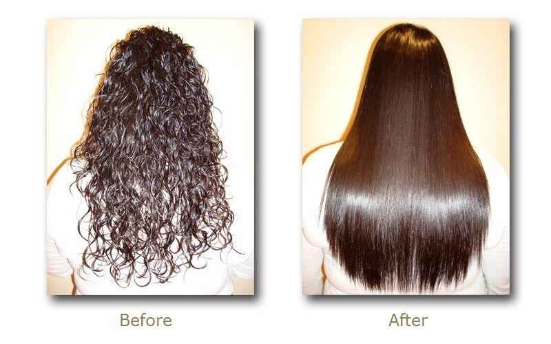 Rebonding Hair Straightening Yuko Permanent Hair