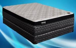 Orthopedic Euro Top Mattress - Posture Plus King / Beige & Black