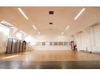 Dance/Fitness/Photography Studio to hire