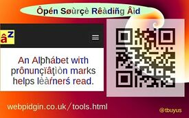 Open Source (Free) Reading App - 4 Kids and Foreigners