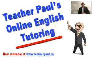 ESL English Tutor available, online or in-person.