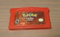 GAMEBOY ADVANCE POKEMON FIRERED EDITION