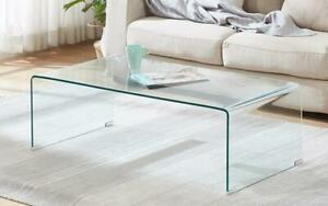Bent Glass Coffee Table - Clear Clear Canada Preview