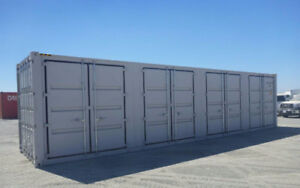 SINGLE TRIP 5 SIDE DOOR 40 FT HIGH CUBE SEA CONTAINER
