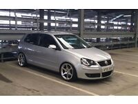 volkswagen polo s 1.4 16v 9n3 modified with cast 13