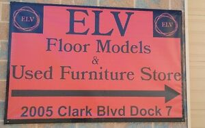 """ELV""  a used furniture/Floor model & consignment store"