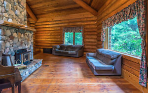 $789,000 · 5 Bedroom 3 Bathroom Custom Build Log Home