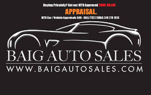 MTO Car / Vehicle Appraisals $40 - CALL/TEXT/EMAIL 519 279 1813 Kitchener / Waterloo Kitchener Area image 1