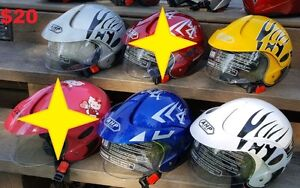 LED LAMPES /// HELMETS / CASQUES CHILDREN West Island Greater Montréal image 4