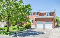 DETACHED 4 BEDROOM HOUSE WITH PRIVATE BACKYARD IN VAUGHAN
