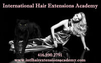 HAIR EXTENSIONS TRAINING & CERTIFICATION COURSES