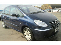 Citroen Xsara Picasso 1.6i Desire. GUARANTEED FINANCE AVAILABLE ON OTHER CARS