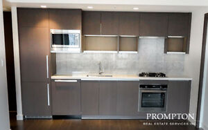 Brand New Yaletown Building. 1 Bed + Den. Be First to Rent