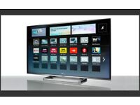 panasonic viera tx32as600 led smart with wifi build in. very good condition