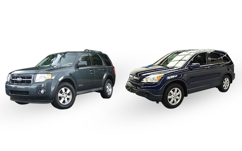 2008 ford escape vs 2008 honda cr v ebay. Black Bedroom Furniture Sets. Home Design Ideas