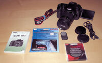 Canon 60D DSLR, Canon EF-S 18-135mm Lens and extras