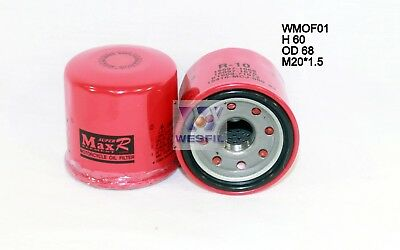 WESFIL OIL FILTER FOR Motorcycle Oil Filters YAMAHA FZ1 2001-2013 WMOF01 ()