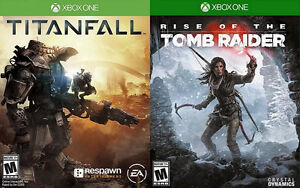 Trading Xbox One Rise Of The Tomb Raider & Titanfall