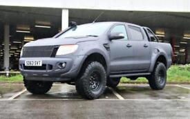 2014 Ford Ranger Seeker Raptor in matt grey wrap finish 4 door Pick Up