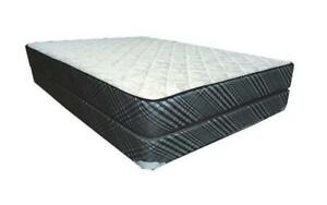 Orthopedic Deluxe Organic Mattress Queen / Black & Grey