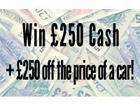 SEAT IBIZA-LIKE AND SHARE OUT FACEBOOK PAGE FOR A CHANCE OF WINNING £250 CASH+£250 OFF YOUR NEXT CAR
