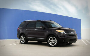 2013 Ford Explorer Limited, low kms, extended warranty