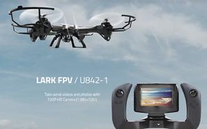 Brand New Udi-842 LARK Real Time Live FPV Quadcopter Drone RTF