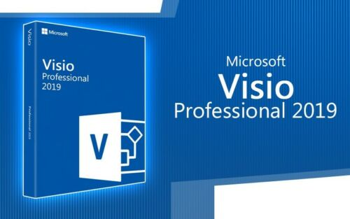 Visio 2019 Professional Original Product Key Full Version-1pc